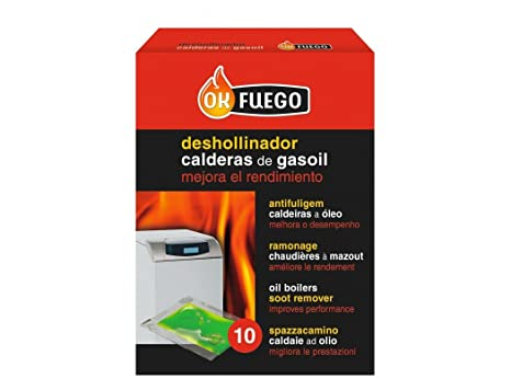 FLOWER - Deshollinador Calderas Gasoil Flower: Amazon.es ...