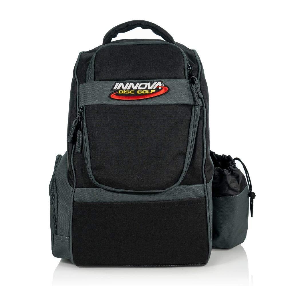 Innova Disc Golf Adventure Pack Backpack Disc Golf Bag - Black by Innova Disc Golf