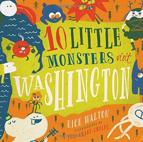 10 Little Monsters Visit Washington PDF