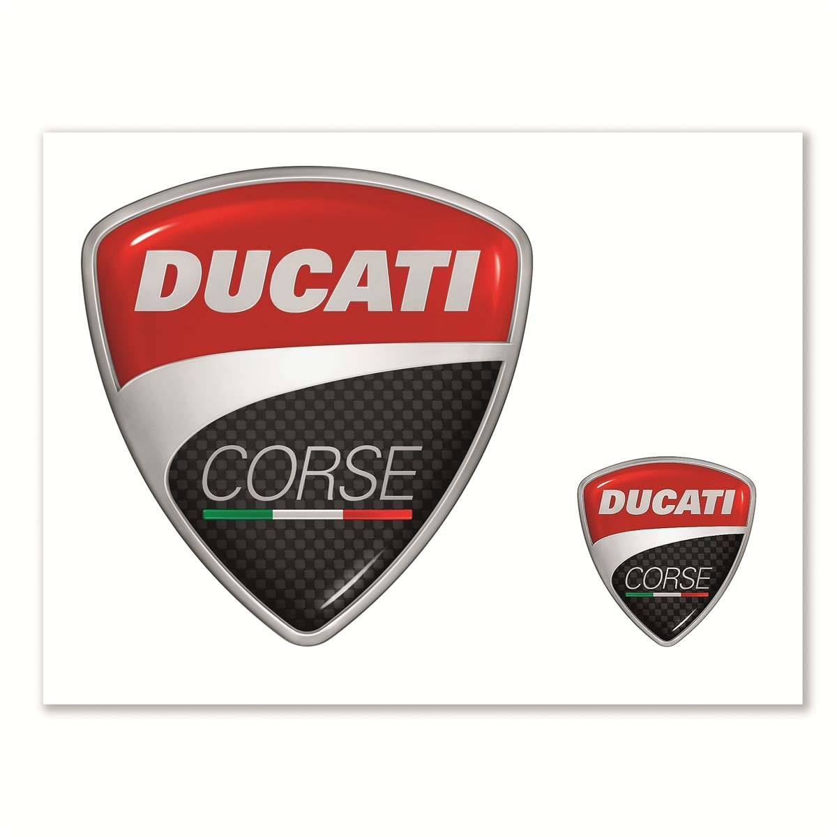 Ducati Corse Logo Sticker Kit COMINU000852