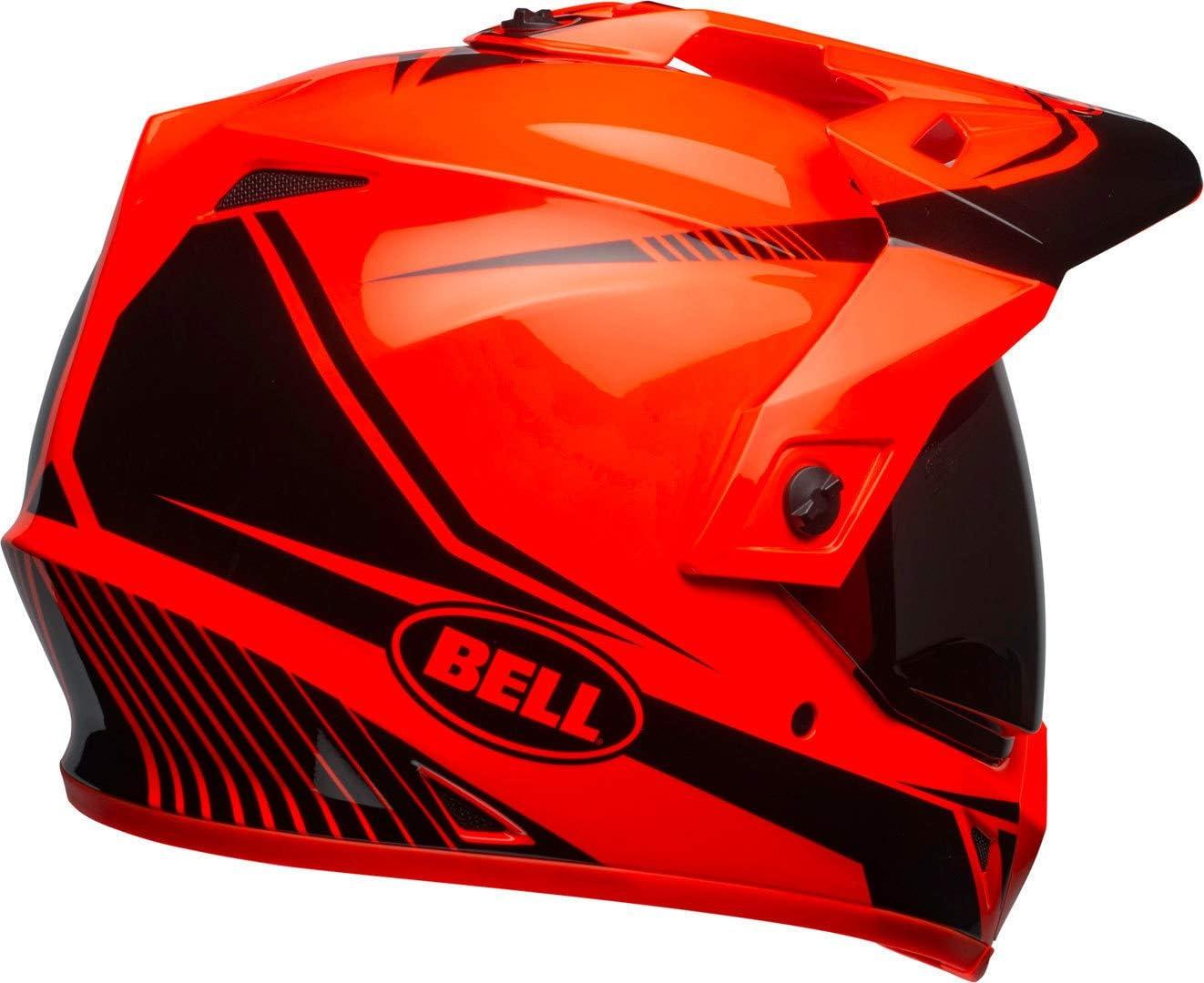 Bell Helmets Herren Bh 7092707 Bell Mx 9 Adventure Mips Taschenlampe Orange Schwarz Größe M M Auto