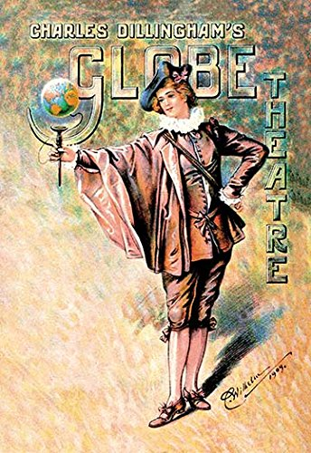 Buyenlarge 0-587-06755-1-C4466 Charles Dillingham's Globe Theatre Gallery Wrapped Canvas Print, 44