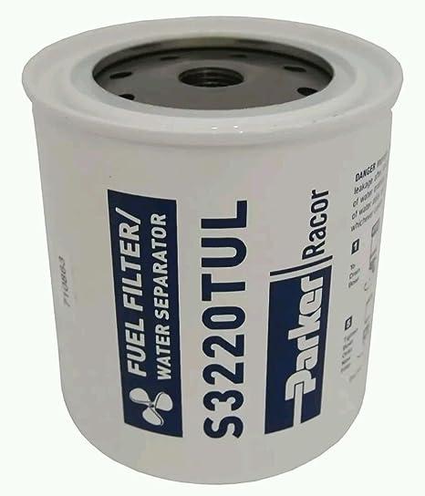 Racor Parker Fuel Filter Water Separator #S3221UL