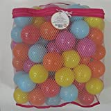 Kids Best Choice High Quality, Versatile & Crush Proof Balls, Made of Phthalate Free and PBA Free plastic. 5 Bright Colors in a Reusable Storage Mesh bag. Indoor & outdoor Use (100 PK)