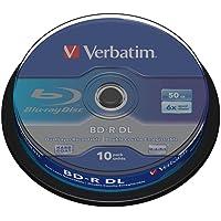 BD-R DL 50GB 6 X 10 packScratchguard surf.