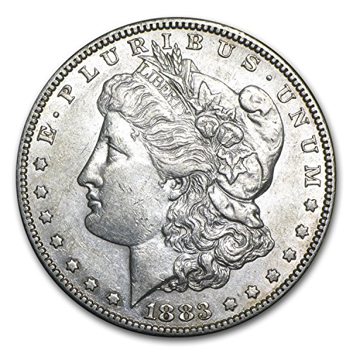 1883 S Morgan Dollar AU $1 AU-50