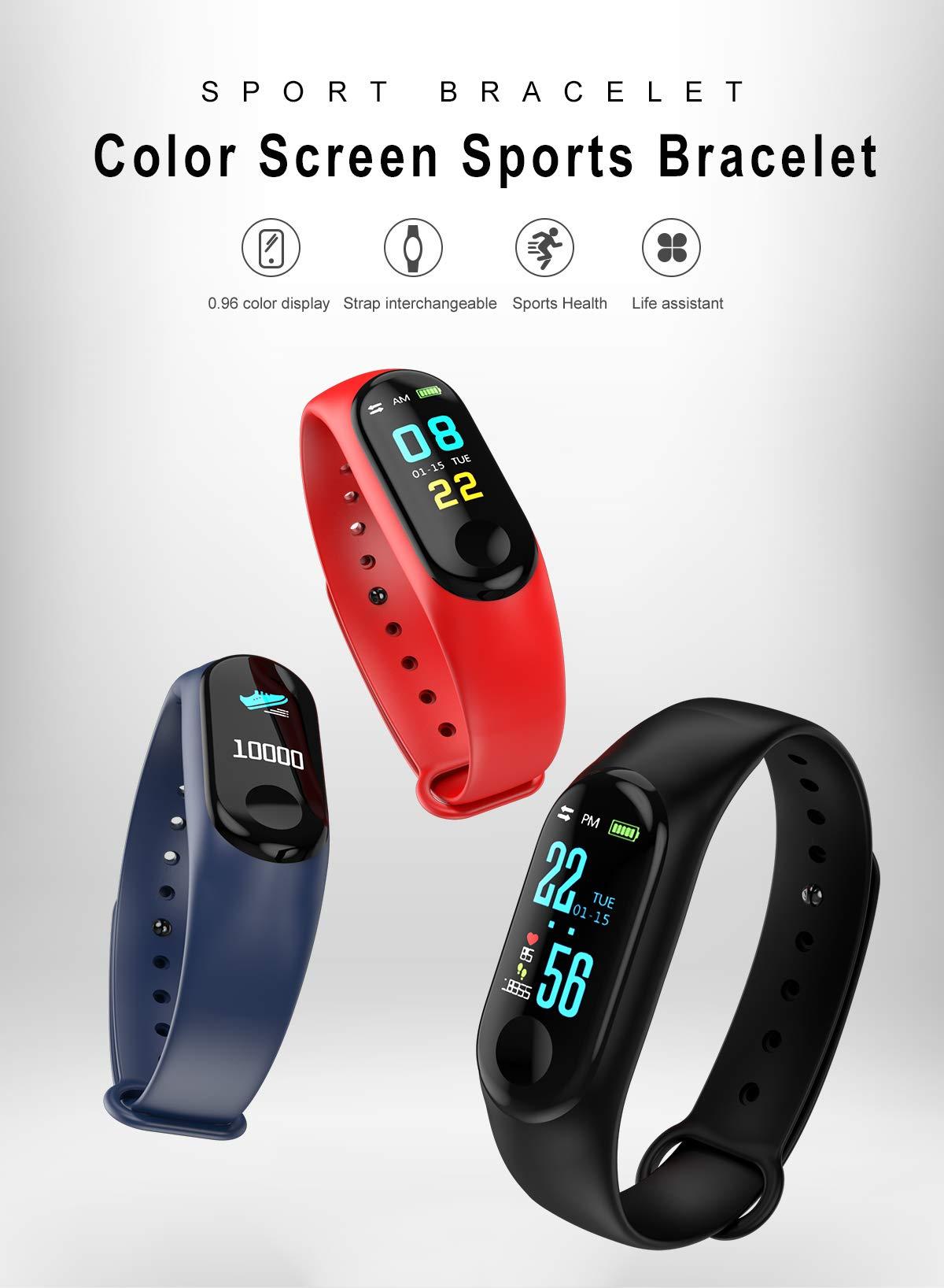 SAILINE Mesdames Mens Montre Intelligente Étanche IP67 Compteur De Calories GPS Avec Chronomètre Sport Bracelet Intelligent