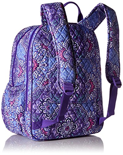 Amazon Vera Bradley Womens Campus Tech Backpack Lilac Tapestry Shoes