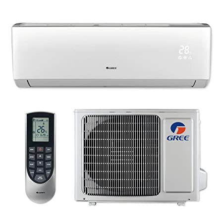 Gree LIVS09HP115V1B – 9,000 BTU 16 SEER LIVO Wall Mount Ductless Mini Split Air Conditioner Heat Pump 115V