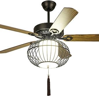 LAMP®-nuevo ventilador de techo chino sala de estar comedor ...