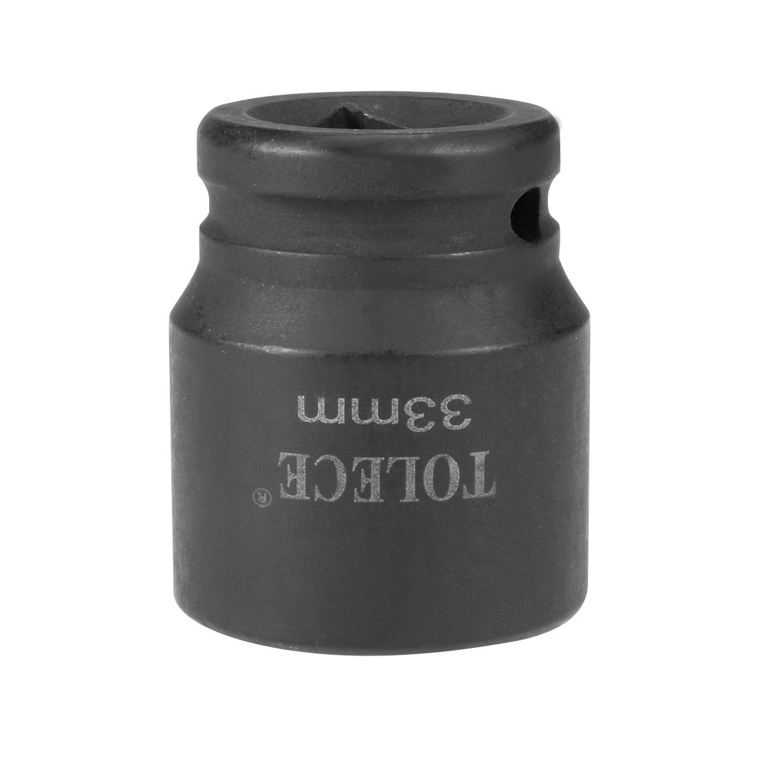 uxcell 3/4-inch Drive 33mm 6-Point Shallow Impact Socket, Cr-Mo Steel