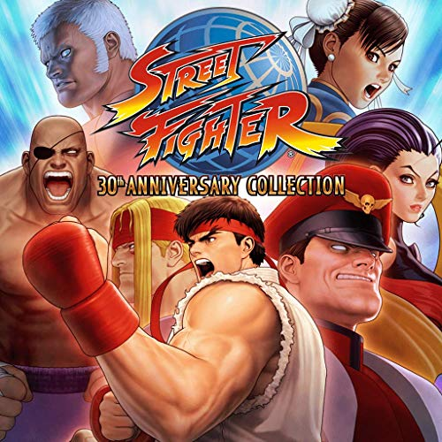 Street Fighter Anniversary Collection - Street Fighter 30th Anniversary Collection - PS4 [Digital Code]