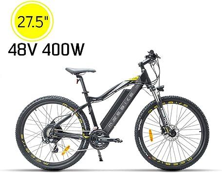 XXCY Bicicleta De Montaña Eléctrica Bicicleta Eléctrica De 27.5 ...
