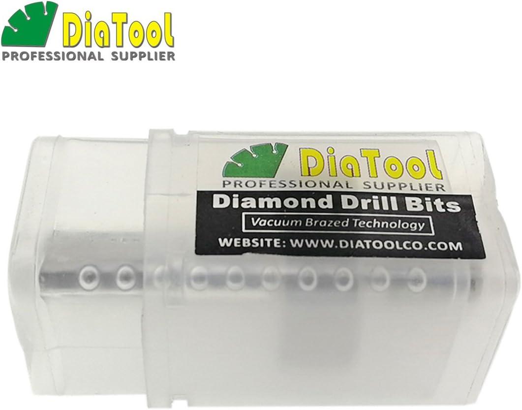 DIATOOL Adaptador de Brocas Taladro para Roscas M14 a Hex/ágono 3//8 Convertidor de Conexi/ón