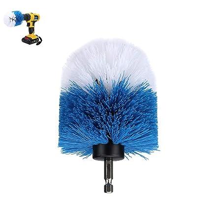 TAOtTAO cepillo eléctrico para limpieza de lechada, cepillo limpiador de tina