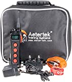 Aeteretk® At-919c Submersible 1 Dog Training Shock Collar 1000m Remote Range Rechargeable