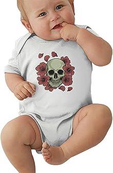 body bébé tête de mort garçon 2