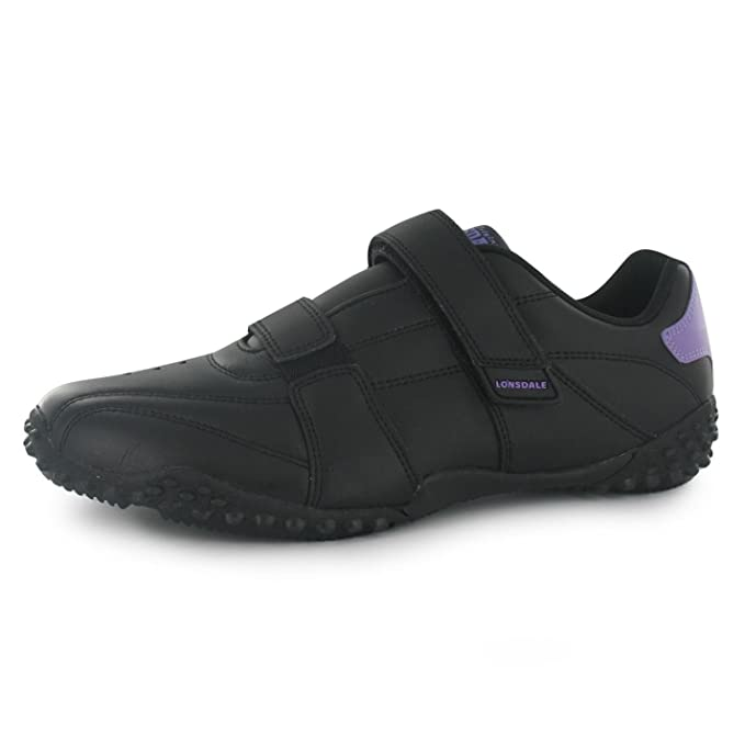 849c8badabcc Lonsdale Womens Ladies Fulham Trainers Sports Padded Ankle Collar Leather   Amazon.co.uk  Clothing
