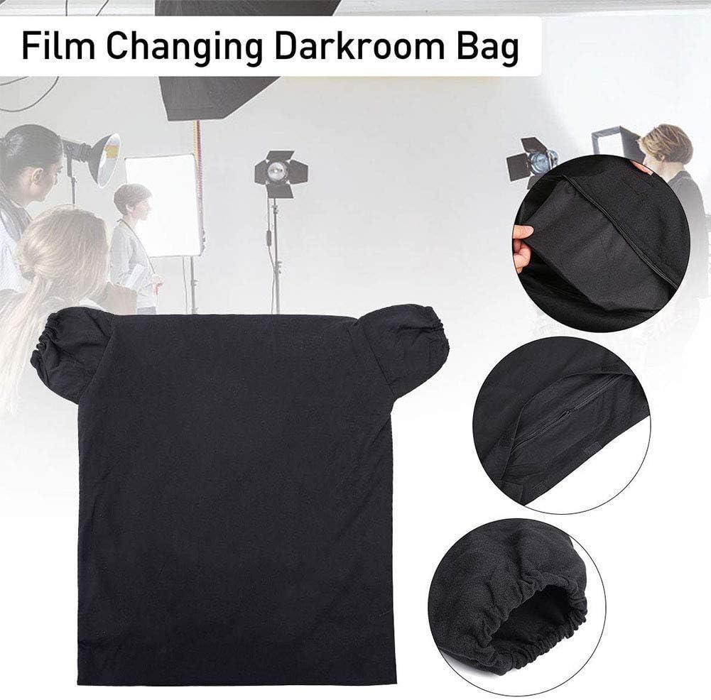 vap26 Film Wechselnd Entwickeln Dunkelkammer Tasche Lichtdicht Doppellagig Rei/ßverschluss Antistatisch Schwarz Free Size