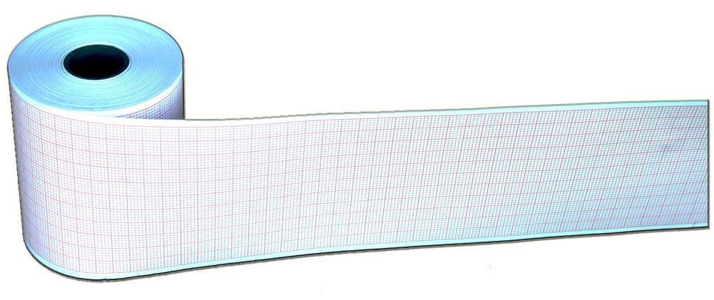 Cardioline Delta 1 Plus EKG Paper - 60mm X 30m Roll Paper, 10 Rolls/box