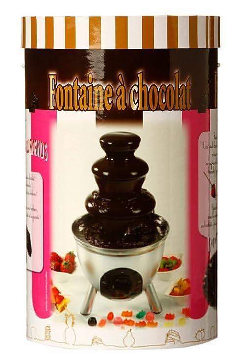JJA - Fuente de chocolate de acero inoxidable en caja regalo (85 W, 230