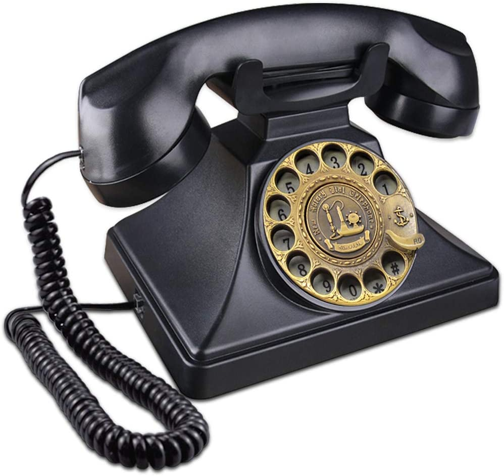 Amazon.com : EC VISION Rotary Phones for Landline, Retro Landline ...