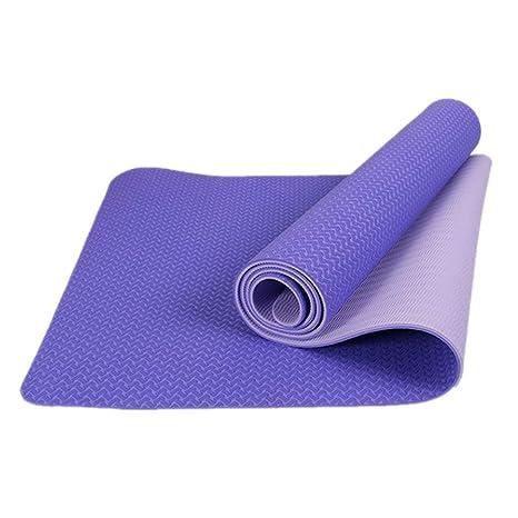 Owenqian Yoga, colchoneta de Gimnasia Colchonetas para ...
