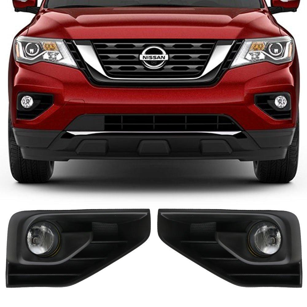 Amazon.com: Lights Fits 2017-2018 Nissan Pathfinder | OE Style LED Fog  Light Lamp Kit w/Switch & Wiring Pairs by IKON MOTORSPORTS: Automotive