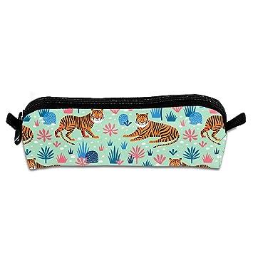 Amazon.com: MOOTIL Tiger Jungle Mint Printing Portable Pen ...