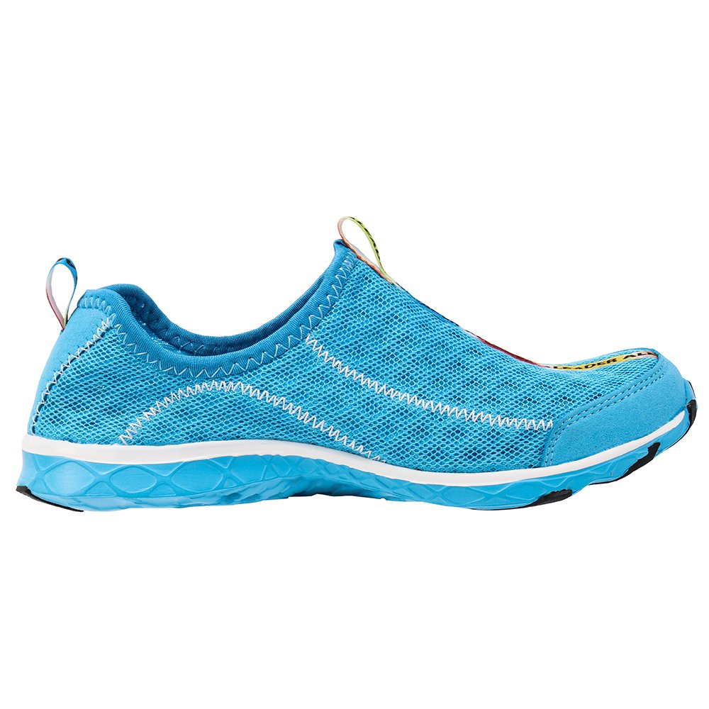 ALEADER Women's Mesh Slip On Water Shoes Blue 8.5 D(M) US by ALEADER (Image #7)