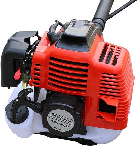 Desbrozadora portátil agrícola, cortacésped de gasolina, pequeña máquina agrícola para eliminar malezas: Amazon.es: Hogar