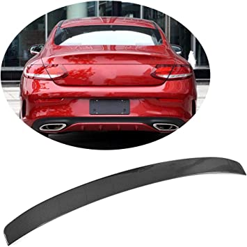 Pianted 040 Black C63 AMG Trunk Spoiler OE Roof Wing For 2012 C250 C350 Coupe