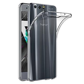 AICEK Funda Honor 9, Transparente Silicona Fundas para Huawei Honor 9 Carcasa Silicona Funda Case