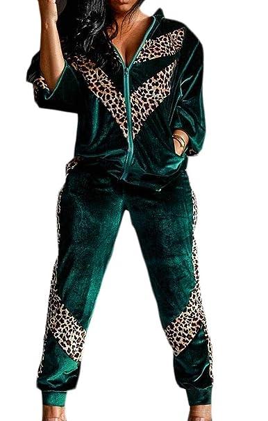 Amazon.com: Yihujiuben - Conjunto de 2 pantalones para mujer ...