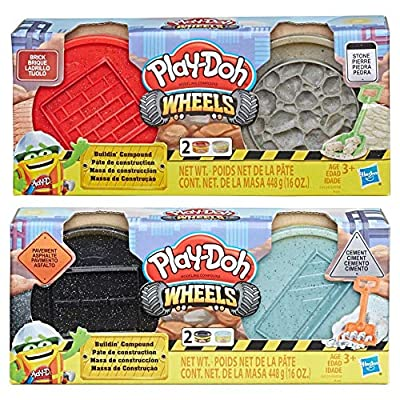PD Play Doh Wheels Buildin' Compound Bundle: Toys & Games