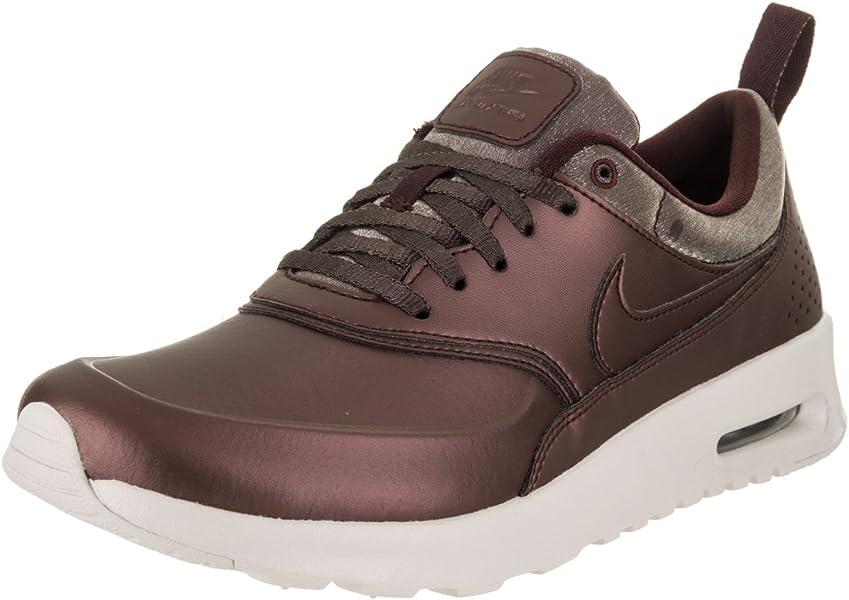 timeless design 9a439 e9eba Amazon.com   Nike Air Max Thea Premium Women s Shoes Metallic Mahogany  616723-900 (5 B(M) US)   Road Running