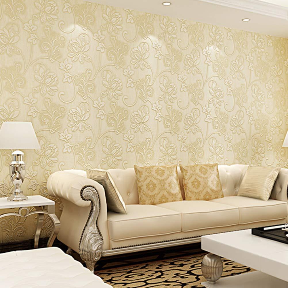 貼付シール壁紙 3d立体 壁紙 寝室のリビングルームの装飾のための10mの