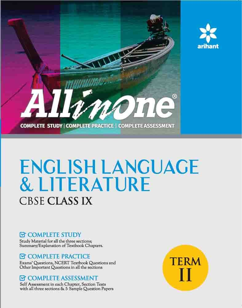 All In one English Language & Literature CBSE Class 9th Term-II pdf epub