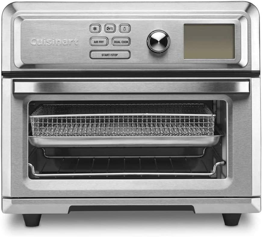 Cuisinart TOA-65 Digital AirFryer Toaster Convection Oven (Renewed)