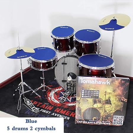 ZHXY Caja sorda Drum Pad Portátil Electrónico Rollo Up Tambor Caja sorda percusión Platillo de Goma de 12 Pulgadas,13 Pulgadas,16 Pulgadas,Caja de 14 Pulgadas,Bombo de 22 Pulgadas: Amazon.es: Hogar