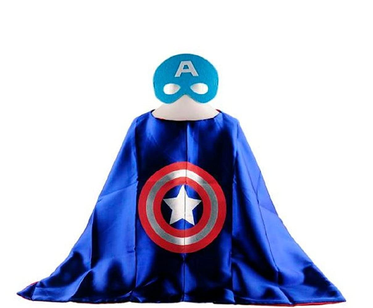 Capitán América Cabo + máscara Niños Disfraz: Amazon.es: Ropa y ...