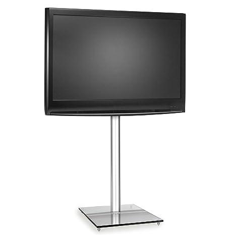 Supporto Tv Design.Supporto Tv Lcd Led Con Staffa In Alluminio E Base In Vetro Temperato Vesa Design Elegante Robusto