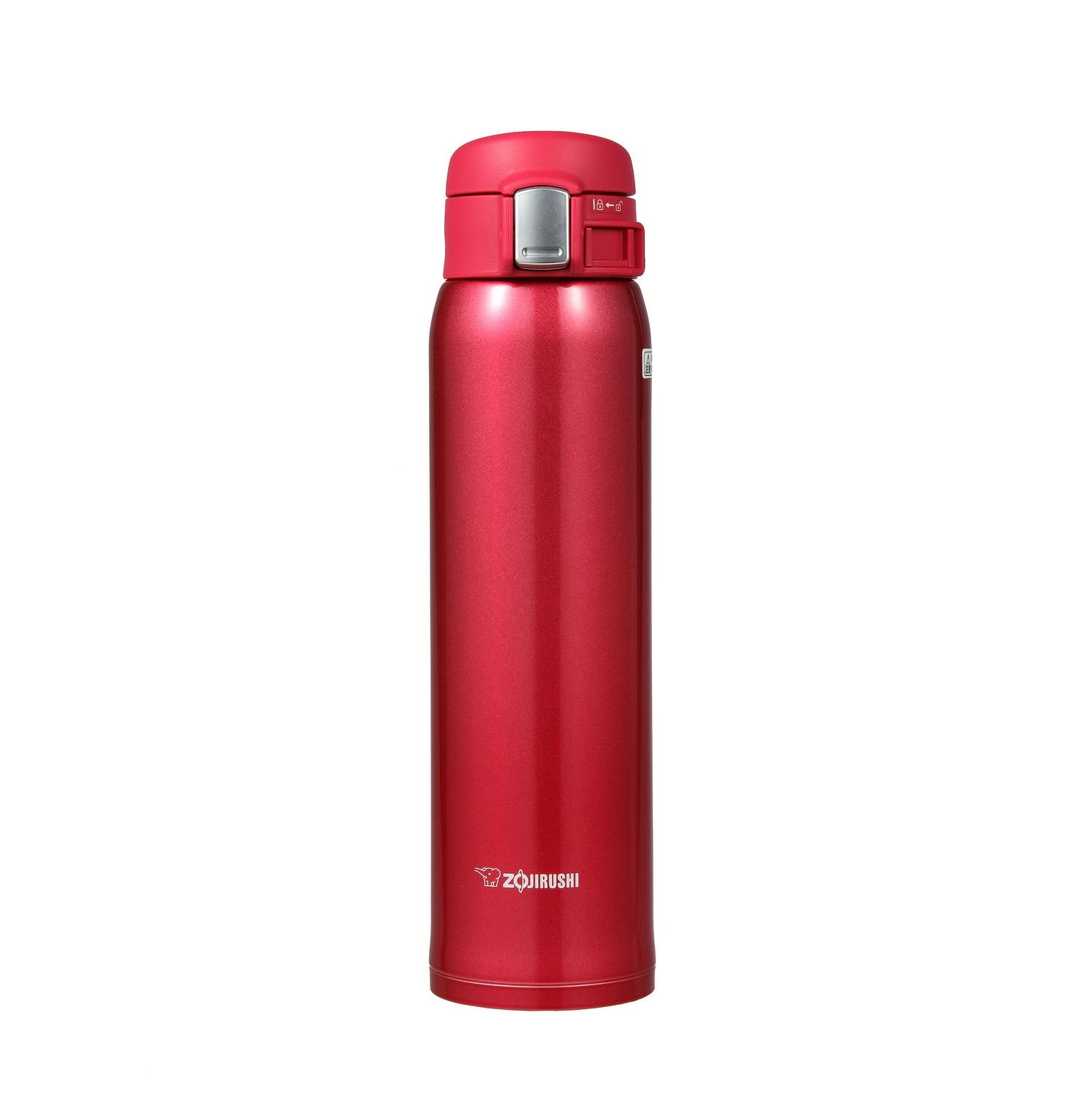 $37.10 (was $56) Zojirushi SM-SA60-RW Stainless Steel Mug, 20-Ounce, Clear Red