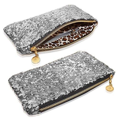 MYNC Pochette MYNC silver Pochette femme pour 4wpP5pqE