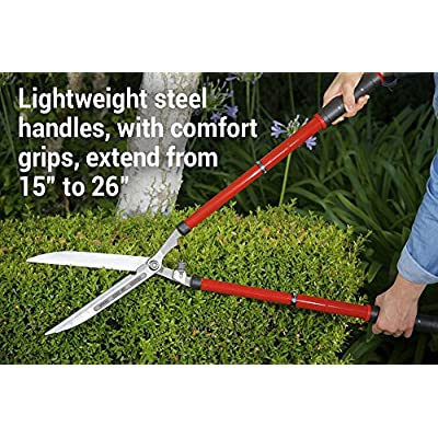 Corona HS 3950 Extendable Hedge Shear, 10-Inch Blade : Garden & Outdoor