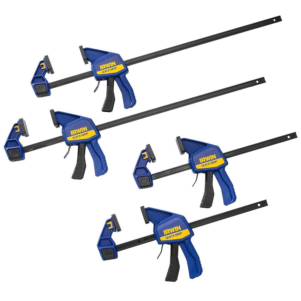 Quick-Grip SL300 Clamp Set, (2) 12'' and (2) 24''