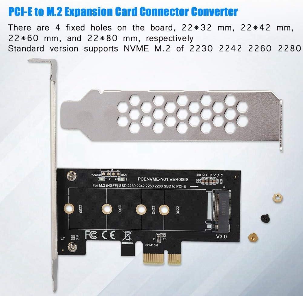 Zerone Extensor de Tarjeta de expansión PCI-E a M.2 Convertidor ...