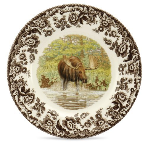 Spode Woodland Majestic Moose Salad Plate by ()