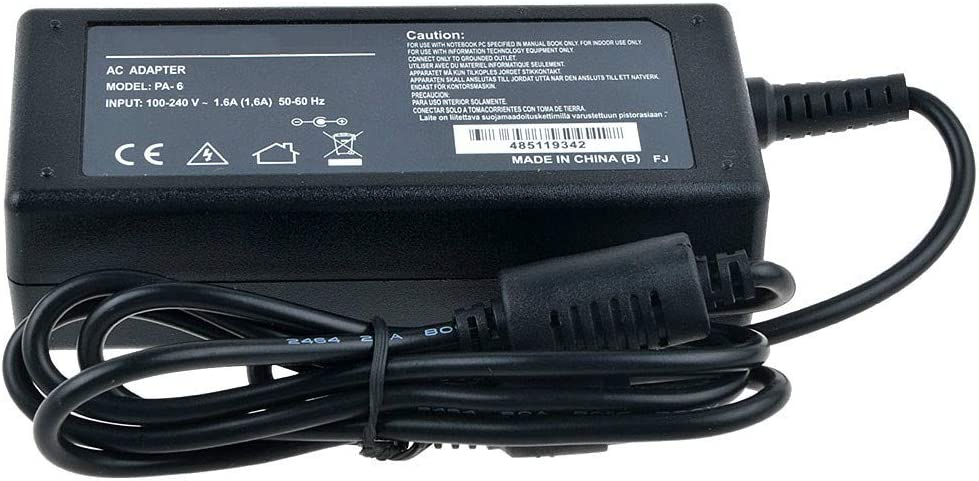 Uniq-bty AC DC Adapter for Polaroid Pdm-0822bd Pdm-0822bd Pdm-0824 Pdm-0825m Pdm-0855 Pdm-0990ds Pdm-1035 Pdm-1035 Pdm-1040 Pdm-1040 Pdm-1044m Pdm-1053 Pdm-1058 Pdm-2727 Pdm-2737 Pdm-2747