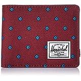 Herschel Supply Co. Men's Roy Rfid Wallet, University Windsor Wine/Peacoat RFID, One Size